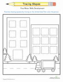 Science Worksheets For 3rd Grade Trace The Squares Worksheet Education Com