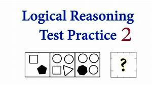 Logical Reasoning Test Practice  With Questions And