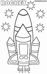 Rocket Coloring Pages Power Colorings sketch template