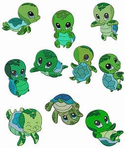 Cute baby turtle clipart - Clipartix