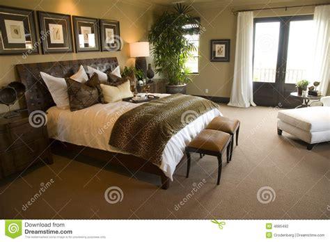 photographie à la chambre chambre à coucher à la maison de luxe moderne photographie