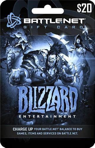 Best Buy: Blizzard Battle.net Gift Card ($20) BLIZZARD