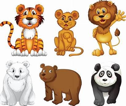 Animals Wild Clipart Clip Jungle Animal Six