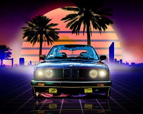 Car Wallpaper Retro by Bmw Retro Style Hd 4k Wallpaper