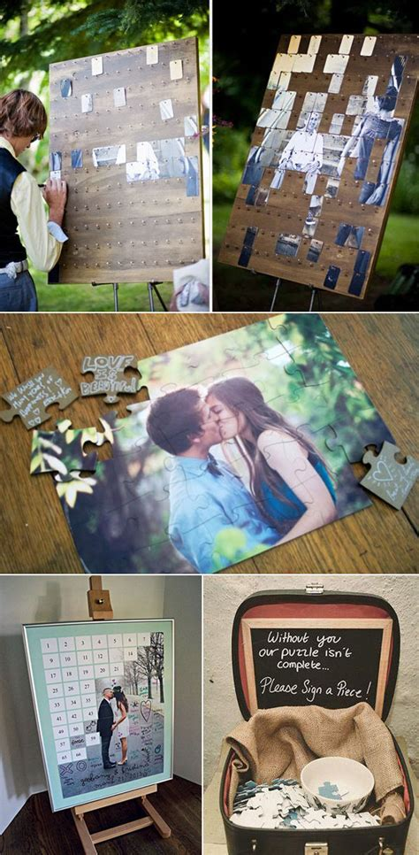 20 Must See Non Traditional Wedding Guest Book