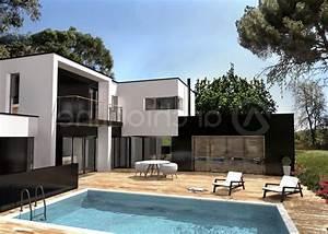 emejing maison moderne avec grande baie vitree images With maison avec baie vitree