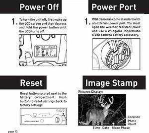 Wgi Innovations I8 Game Trail Camera User Manual