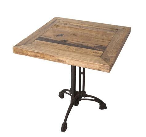 devis en ligne cuisine table carrée industrielle 70 cm