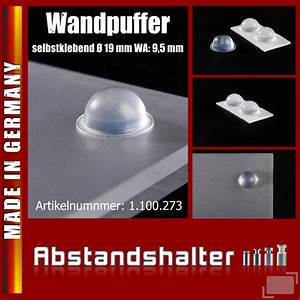 Abstand Wc Wand : abstand wc wand 12 x wandpuffer 19x9 5 mm klebend ~ Lizthompson.info Haus und Dekorationen
