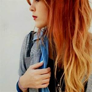 Fuck Yeah, Fantasy Hair!, red to blonde ombre hair