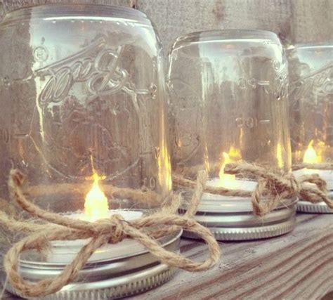 creative ways    mason jars
