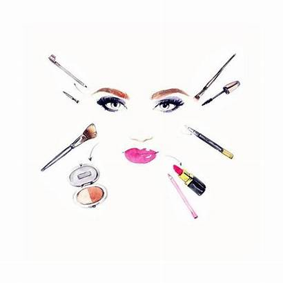 Makeup Background Artist Woman Posters Portrait Prints