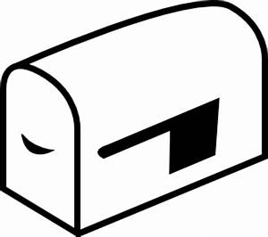 Post Office Clipart Black And White   Clipart Panda - Free ...