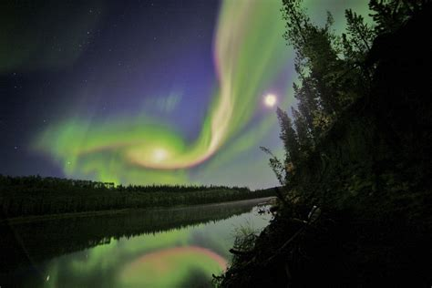 northern lights for supermoon northern lights and solar flares september in