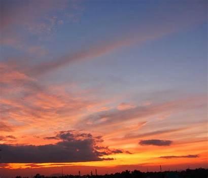 Awan Sky Senja Sunset Langit Gambar Alam