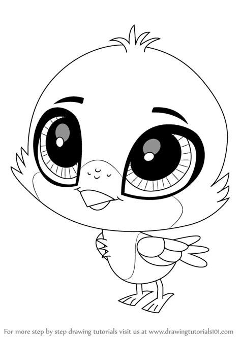 learn   draw hubble  littlest pet shop littlest