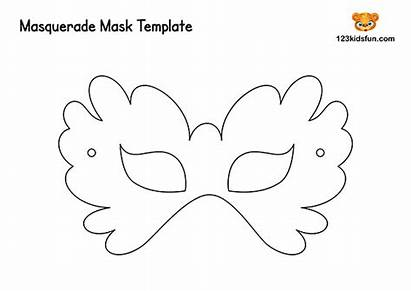 Masquerade Masks Template Mask Printable Mardi Gras