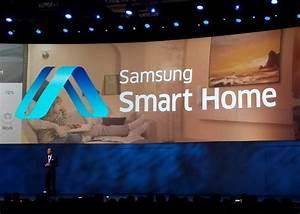 Samsung Smart Home : smart home la maison connect e par samsung ~ Buech-reservation.com Haus und Dekorationen