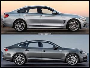 Audi A5 Coupé : photo comparison bmw 4 series gran coupe vs audi a5 sportback ~ Medecine-chirurgie-esthetiques.com Avis de Voitures