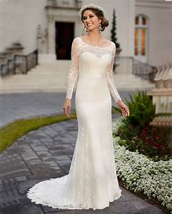 popular simple long sleeve wedding dresses buy cheap With simple long sleeve wedding dress