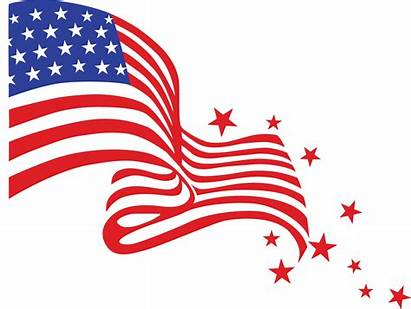 Flag Transparent American Clipart Background Ribbon July