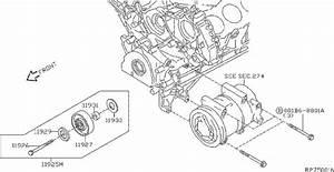 11925-ea20b - Accessory Drive Belt Idler  Compressor  Tensioner  Mounting
