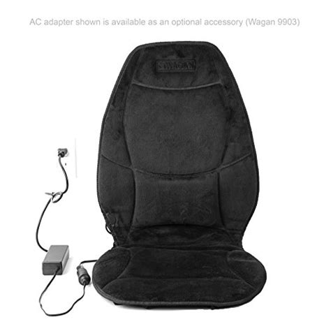 wagan in9438 12v heated seat cushion with lumbar support