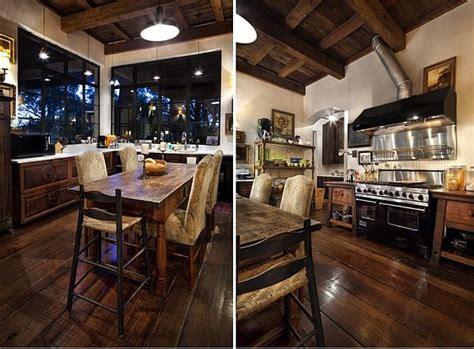 contrastive house  austin texas combining antique