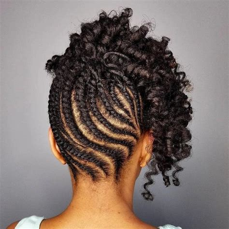 Twist With Curls Hairstyles by 20 Twist Hairstyles For Hair Tuko Co Ke