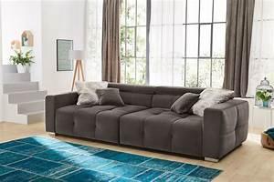 Big Sofas Günstig : trento von job big sofa grau sofas couches online kaufen ~ A.2002-acura-tl-radio.info Haus und Dekorationen