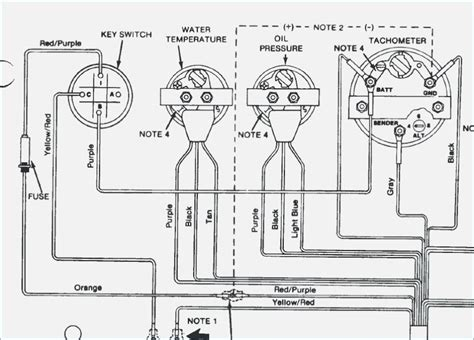Tach Wire Diagram by 4 Wire Tach Diagram Wiring Diagram