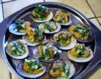 cuisiner palourdes palourdes farcies aux herbes et échalotes recette iterroir