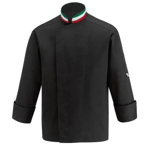 veste de cuisine brod馥 veste de cuisine col italien