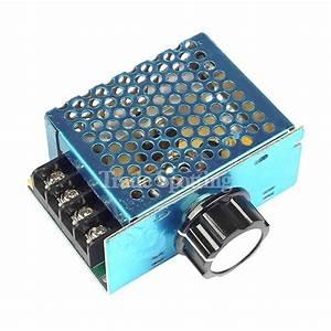 4000w 220v Scr Voltage Regulator Motor Speed Controller