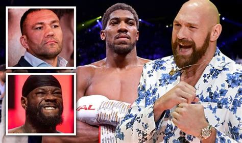 Eddie Hearn decides Tyson Fury vs Deontay Wilder 3 plan ...