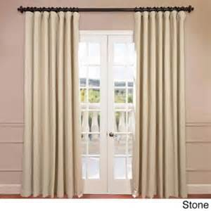 eff extra wide thermal blackout 108 inch curtain panel