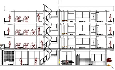 basement apartment floor plans section plan of multi flooring hotel architecture layout