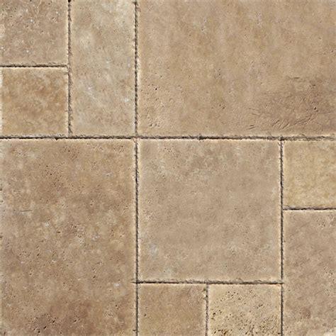tuscany chocolate travertine versailles pattern tiles