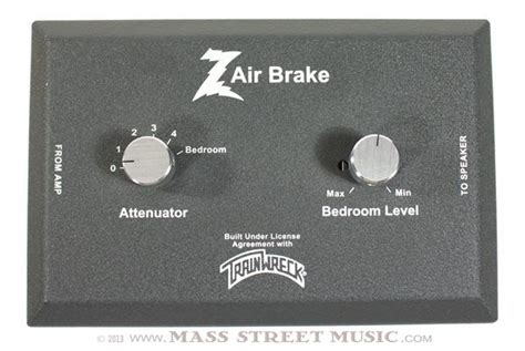 brake dr air trainwreck amps