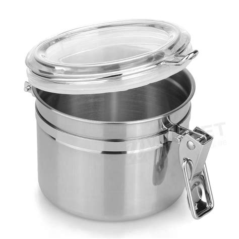 airtight kitchen canisters home kitchen stainless steel airtight sealed canister