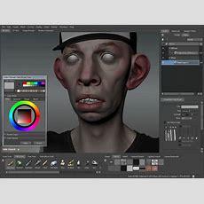 Mudbox 2011 Texture Painting Tutorial Youtube