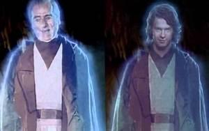 Anecdotes : Star Wars – Hologramme d'Anakin retouché