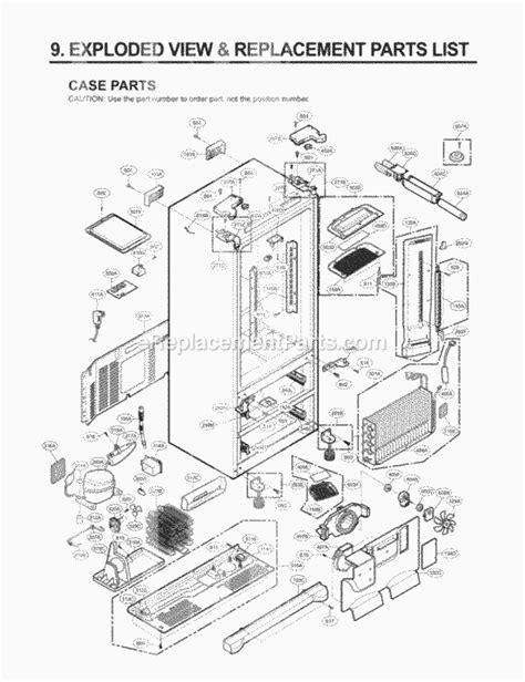l replacement parts lg lmx25981st parts list and diagram gr l25ausjh