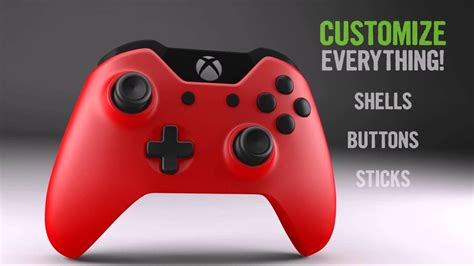 design your own xbox one controller xbox one build your own controller custom controllers