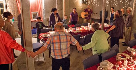 simple church blends dinner worship  enterprise