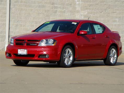 2014 Red Dodge Avenger