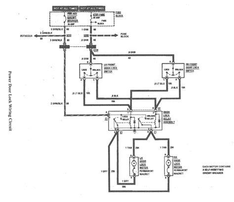 5 wire door lock relay diagram wiring diagram