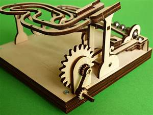 RetroTime - KIT2 Marble Machine Hand Cranked