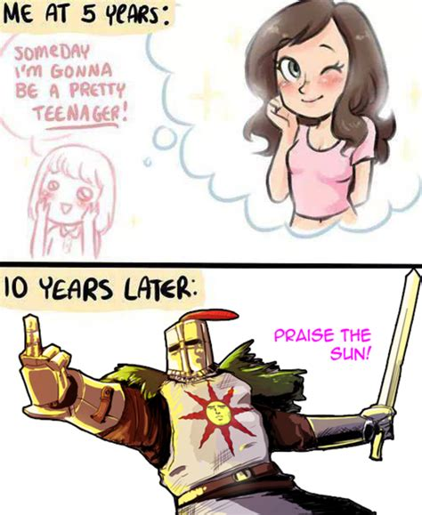 Solaire Memes - when u grow up like it s nobody s business solaire of astora know your meme