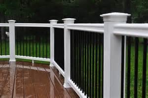 decks deck railing height